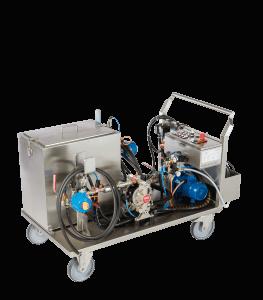 RWR KST para moldeo por inyección de plásticos- dual automático
