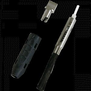 Cepillo de fibra de carbono para manguito cilíndrico