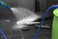 Inyector de espuma de bidones de 200 L